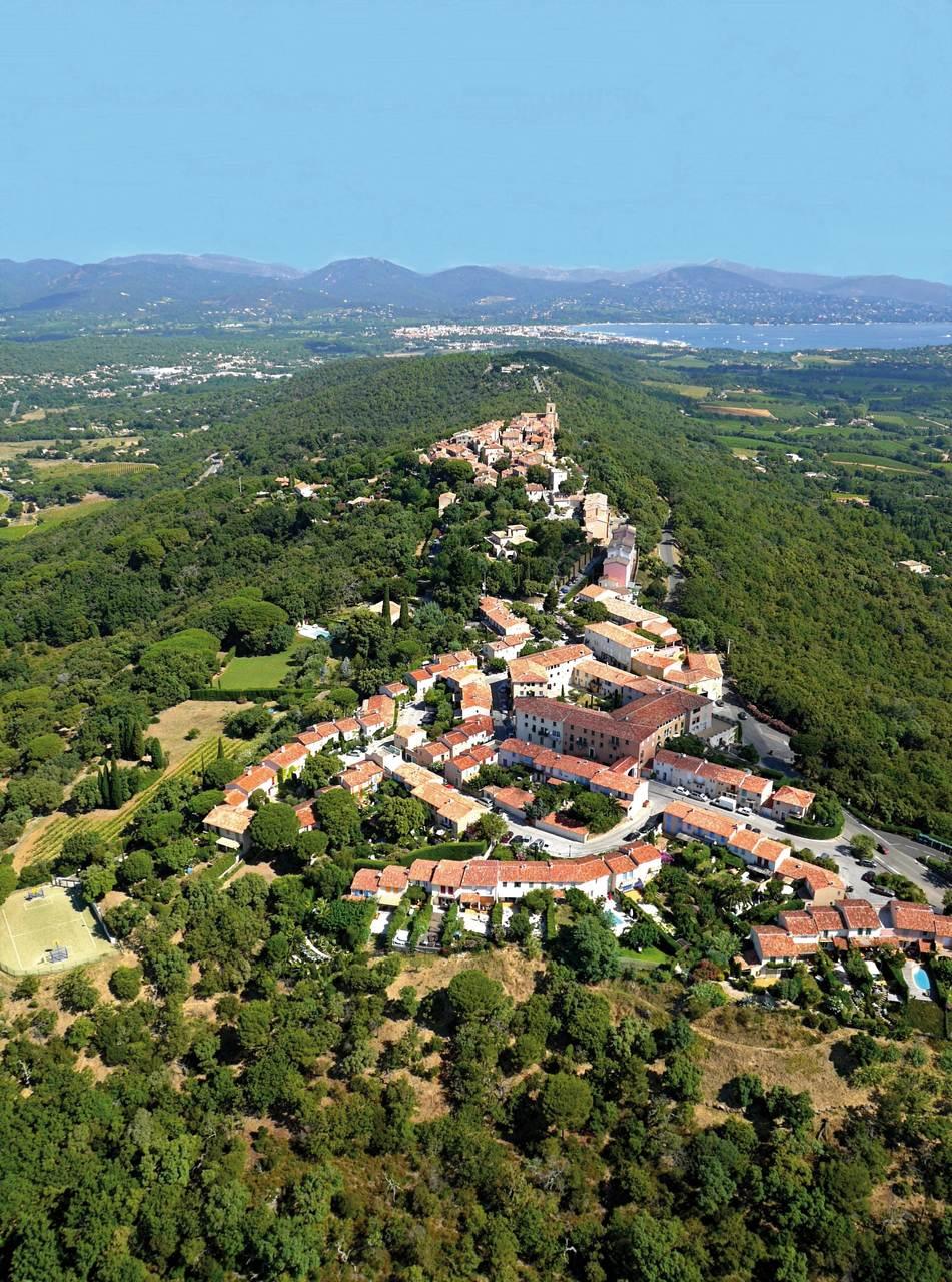 Gassin var les plus beaux villages de france - Les plus beau village du var ...