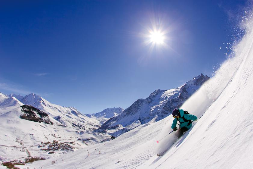La Grave skieur © p.rebreyend