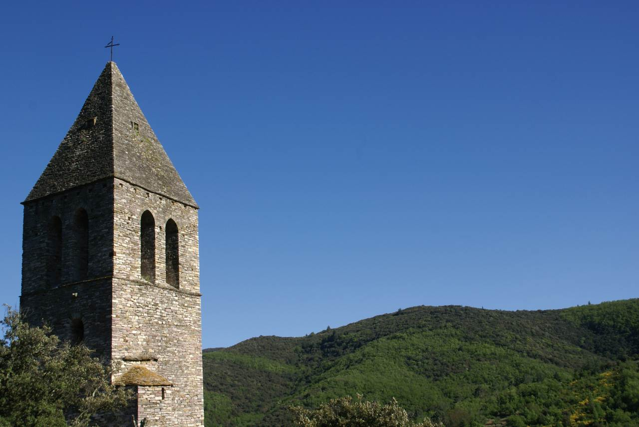 Olargues clocher donjon 2  © PBVF