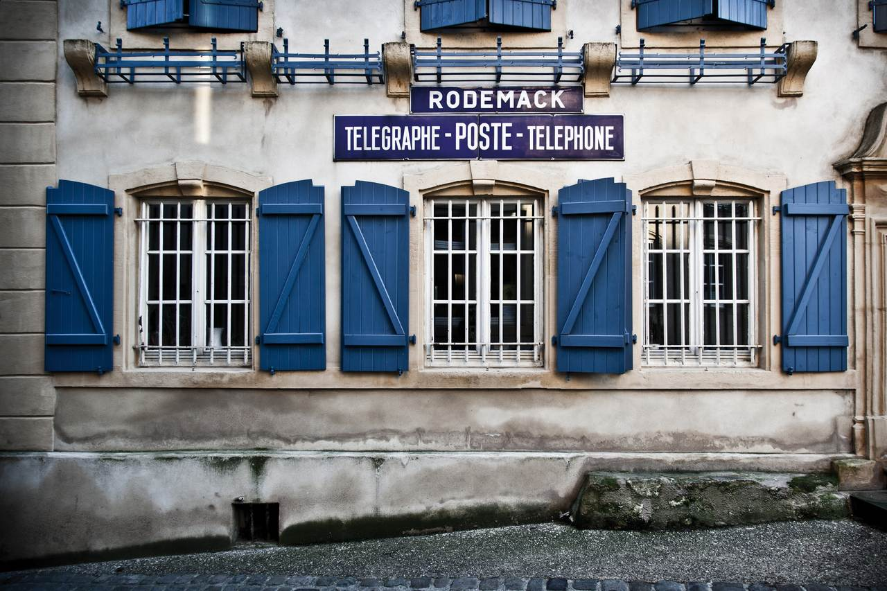 Rodemack poste  © S. Berthelot